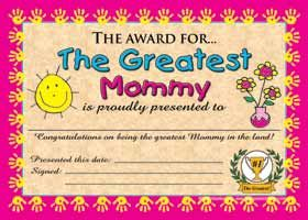 Wholesale The Award For The Greatest Mommy Express Yourself Sign In 2021 Mothers Day Cards Greatful Best Mom