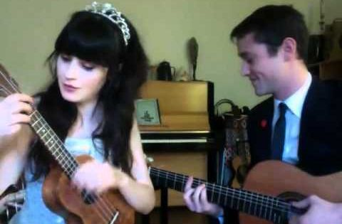 What Are You Doing New Years Eve?-- Zooey Deschanel and Joseph Gordon-