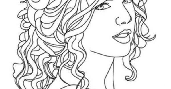 Free Printable Image Of Taylor Swift To Color Famous