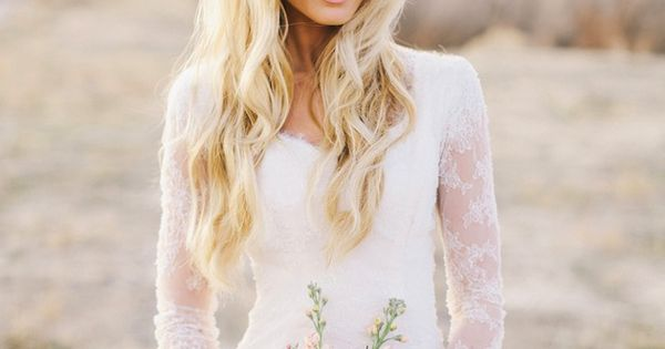 30 of the most gorgeous lace sleeve wedding dresses! Featuring dresses inspired