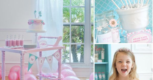 Best Kids' Birthday Party Ideas: Sweet girly birthday bash