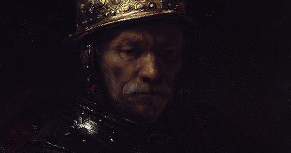 Man in a Golden Helmet, 1669 - Rembrandt van Rijn (Dutch, 1606-1669)