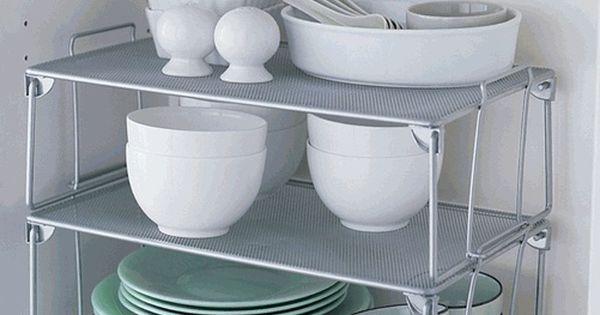 Ideas espacio armarios cocina una mini estanter a dentro - Vestir un armario por dentro ...