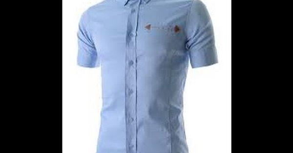 تعليم الخياطة خياطة القميص الرجالي بطريقة احترافية وجودة عالية Youtube Mens Tops Casual Button Down Shirt Men Casual