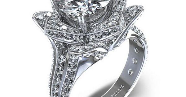 diamond flower wedding rings luxury diamond wedding rings wedding rings 2015 pinterest flower wedding rings diamond flower and wedding ring - Luxury Wedding Rings