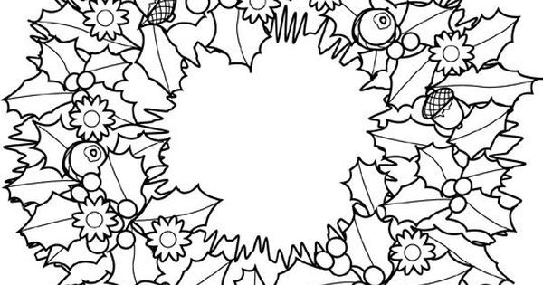 fall wreath coloring pages - Google Search | Coloring ...