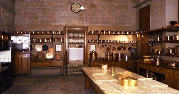 Harewood House Said To Have Inspired The Creation Of The Downton Abbey Kitchen Set Behind