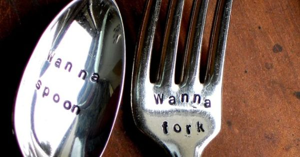 Wanna Spoon - Wanna Fork (TM) - Organically Upcycled Vintage Silverware by