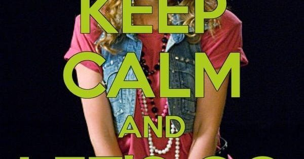 Keep Calm and Let's Go to the Mall HIMYM RobinSparkles