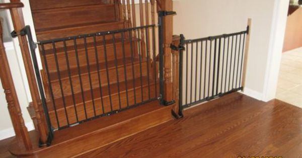 Baby Gate Option For Mounting With No Holes In The Newell Post Great