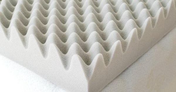 Milliard 2 Inch Egg Crate Ventilated Memory Foam Mattress Topper King Milliard Http Ww Foam Mattress Topper Memory Foam Mattress Memory Foam Mattress Topper