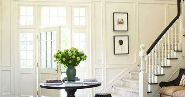 Foyer Rug Rules : Fail safe decorating rules more moldings and