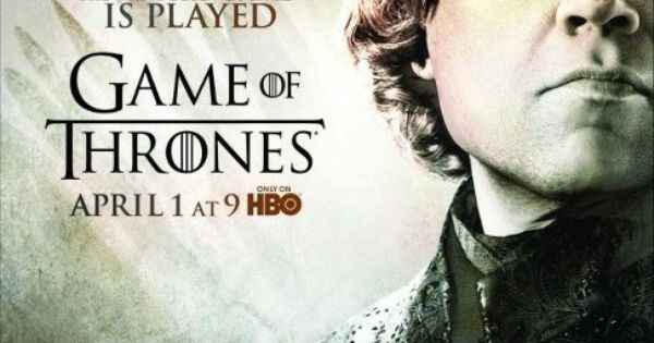 Game of Thrones - Season 2 poster - Tyrion Lannister (Peter Dinklage)