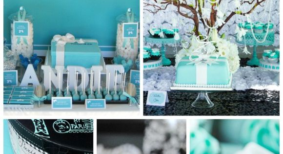 7 must-have ideas for your Tiffany & Co. party! See more party
