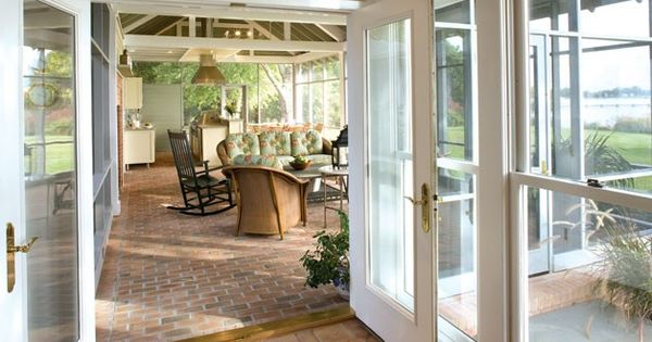 Covered And Partially Enclosed Patio Indoor Outdoor