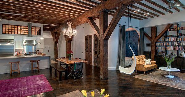 Loft renovation by reiko feng shui interior design home - Loft industriel design eclectique reiko feng shui ...