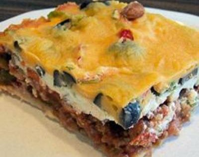 Easy Mexican Casserole Recipe- made this last night and can't stop thinking