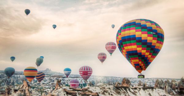 Flights of Fancy... Hot air balloon ride in Cappadocia, Turkey!!! travel photo
