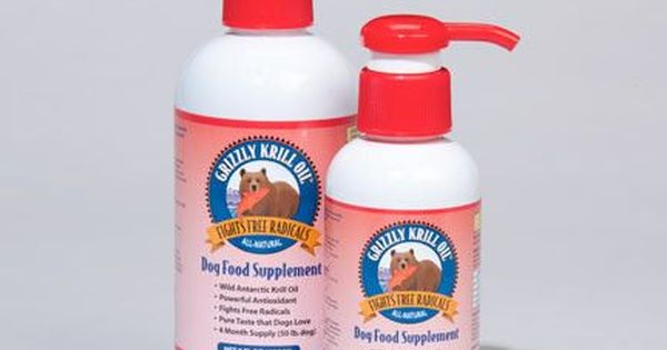 Grizzly Wild Krill Oil For Dogs And Cats Oils For Dogs