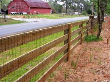 3 Rail Kentucky Board Fence With Liner Fence Outdoor Outdoor Structures