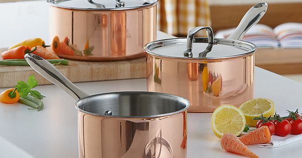 Cook using only the very best with these stunning copper for Art and cuisine cookware
