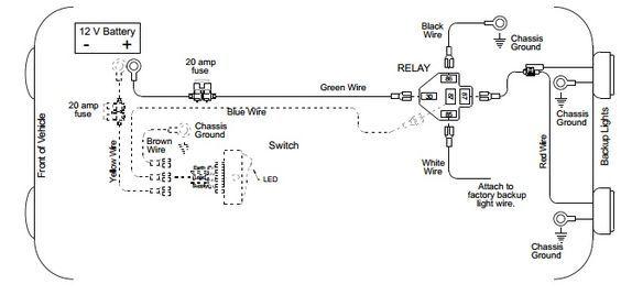 Back Up Light Wiring Diagram
