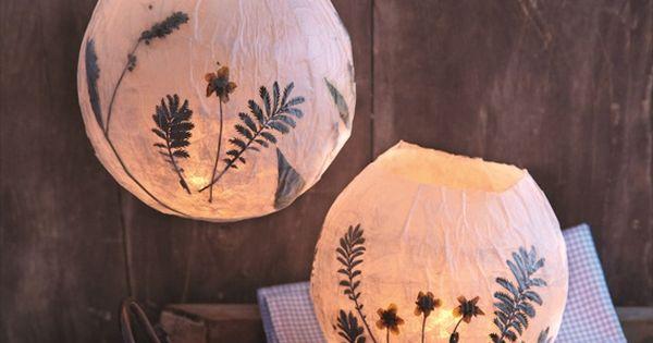 Paper mache lanterns | DIY Creator