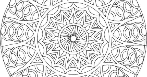 Mandala Gratuit à Télécharger, à Imprimer Et à Colorier