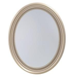 Unbranded 23 5 In X 29 In Recessed Or Surface Mount Mirrored Medicine Cabinet In Gold Sp4593 The Home Depot Medicine Cabinet Mirror Wall Mounted Medicine Cabinet Mirror Mounted