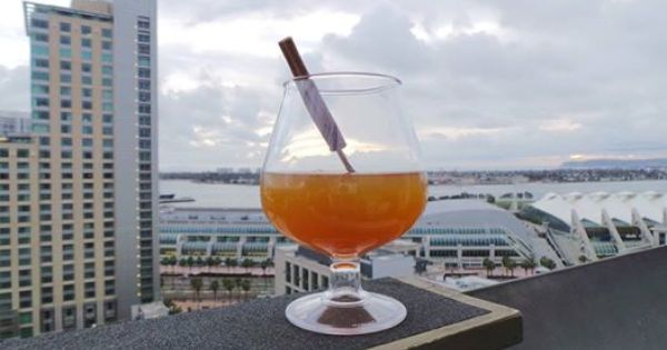 Our Fire Apple Pie Is Quickly Becoming A Holiday Favorite When Will You Try It 22ndfloorsd Cocktail Rooftop Bar San Diego Petco Park