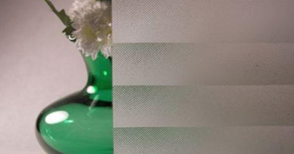 White Fading Mini Blind Privacy Window Film Windows