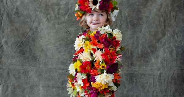 DIY Halloween Costume - Flower Field