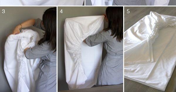 How Fold A Fitted Sheet Home Garden Trusper Tip