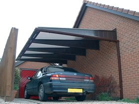 A Protective Shelter For Your Car Against Harsh Weather Conditions If You Are Looking For A Cost Effective Alternate To Roofing Cantilever Carport Car Canopy