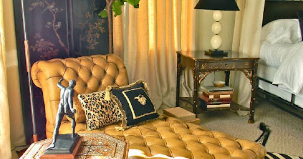Exotic yet classic bedroom design