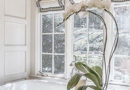 Window Treatment Ideas Roman Shades And Drapery Panels