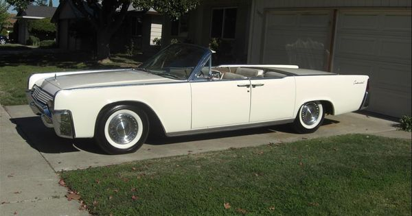 1961 lincoln continental four door convertible lincoln pinterest. Black Bedroom Furniture Sets. Home Design Ideas