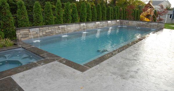 Stamped Pool View Elite Crete Design Inc In Oshawa On
