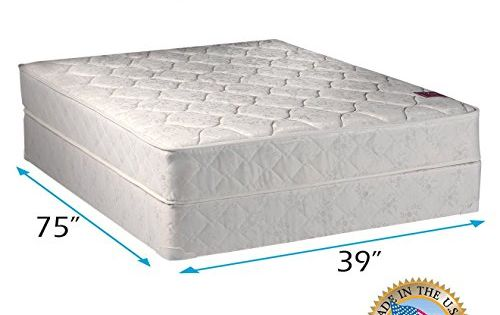 Legacy One Sided Twin Mattress Set With Mattress Cover Protector Included Fully Assembled Spinal Sup Mattress Sets Twin Mattress Size Full Size Mattress Set