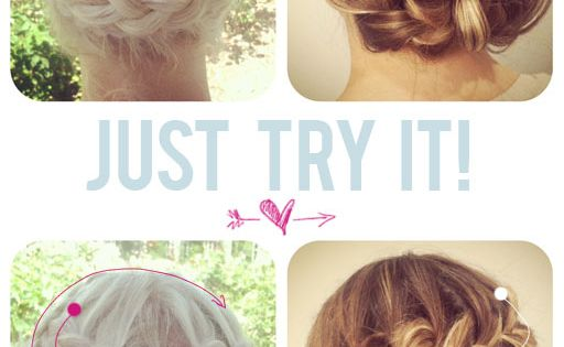 truebluemeandyou: DIY Snail Braids and Challenge from The Beauty Department. Photos and