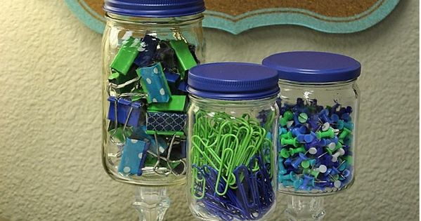 Apothecary Jars for the Classroom~Storing Your Supplies in Style! Lots of ideas