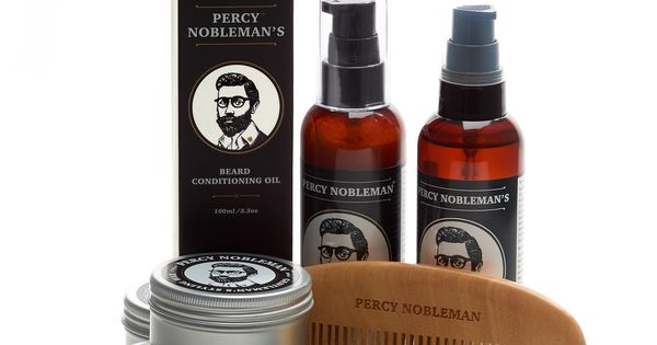 Man Cave Beard Oil : Treat your beard to the whole percy nobleman range