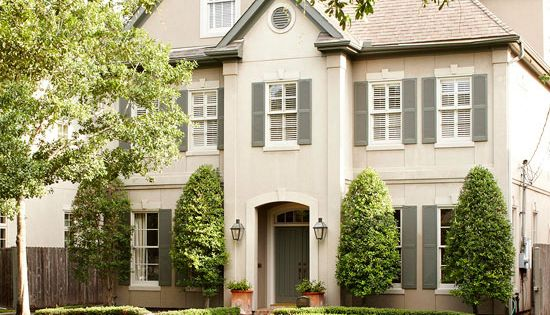 exterior house shutters | BHG - home exteriors - modern cottage homes,