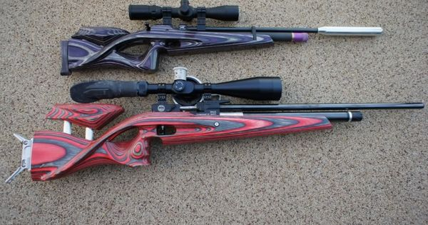139 Best Pcp Air Rifles Images On Pinterest: CZ 200s With Custom Laminate Stock (top)