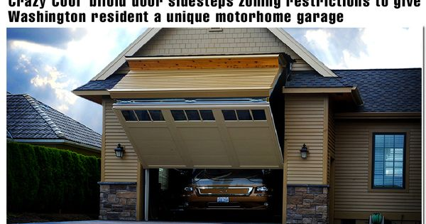 Regular look garage door opens to 12 ft wide with a for 14 wide garage door