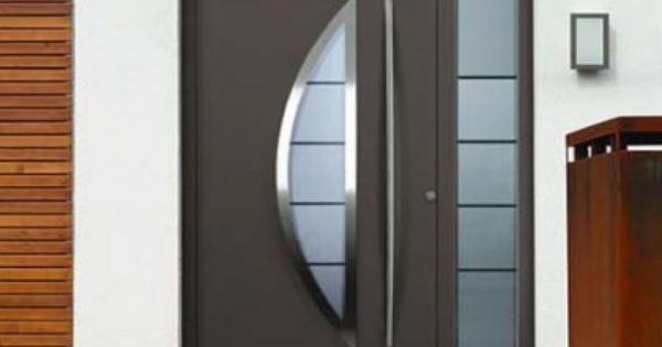 Puertas entrada aluminio exterior buscar con google for Puertas metalicas para patio