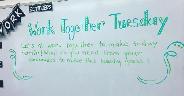 Work Together Tuesday Miss 5th Fun Boards Pinterest
