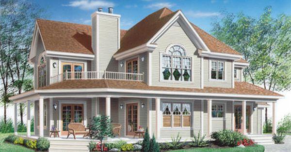 Plan 2118dr Wonderful Wrap Around Porch House Plans