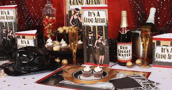 Roaring twenties party supplies 1920s murder mystery for 1920 s party decoration ideas