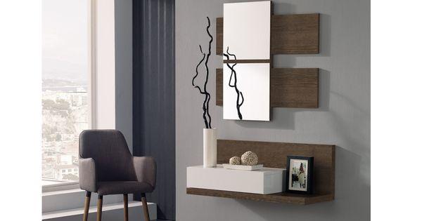 Consola con espejo para recibidor consola con espejo for Espejos bonitos para recibidor